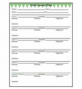 sample unit lesson plan 7 documents in pdf word With doe lesson plan template