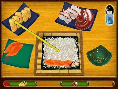 jeux de cuisine sushi asami s sushi shop gt jeu iphone android et pc big fish