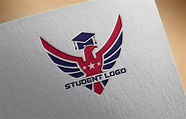 Free Student Logo Design Template – GraphicsFamily