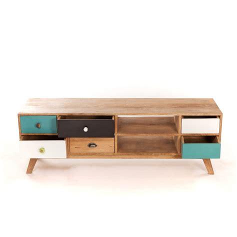 meuble tv bas design scandinave