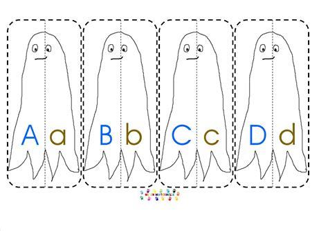fantomes des lettres majusculeminuscule mc en maternelle