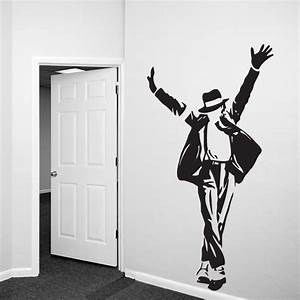 michael jackson wall decal sticker With michaels wall decals