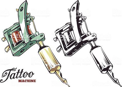 tattoo machine vector stock vector art  images