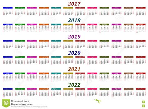 year calendar        vector illustration cartoondealer