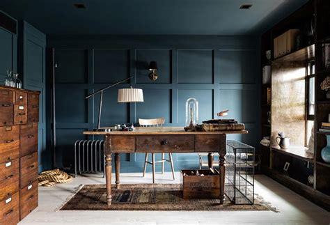 interieur en bleu profond  inspirations pour oser