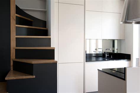 meuble cuisine conception cuisine et escalier arlinea architecture
