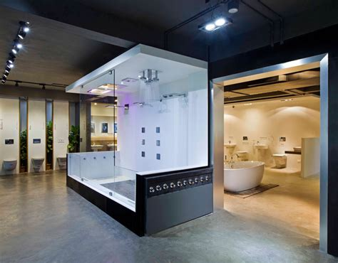 bathroom showroom ideas nude emporio design 6 provocative modern architecture approach for bathroom showroom in india