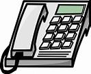 Office Phone Clip Art at Clker.com - vector clip art ...
