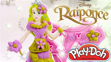 play doh raiponce cr 233 ations royales p 226 te 224 modeler robe de princesses fashion kit