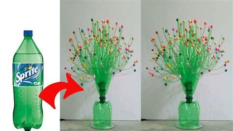 diy flower vase   plastic bottle craft