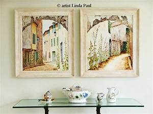 Wall art ideas design square framed french country