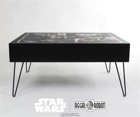 star wars table l classic collector case storage table regal robot