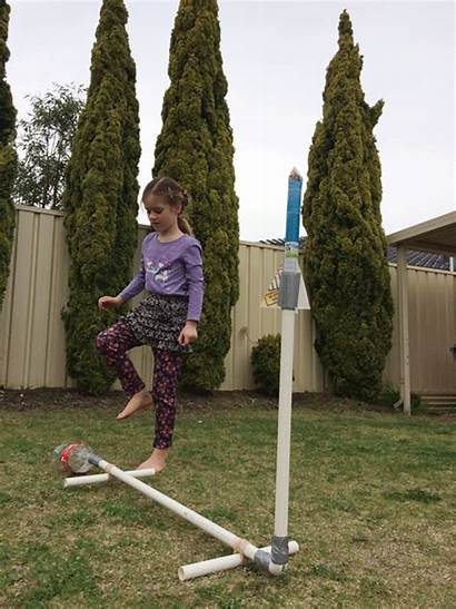Science Rocket Rockets Stem Stomp Air Diy