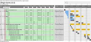 Planning Software - Gantt Chart For Excel