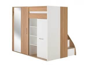 Lit Armoire Ikea by 80 Lits Mezzanine Pour Gagner De La Place Lit