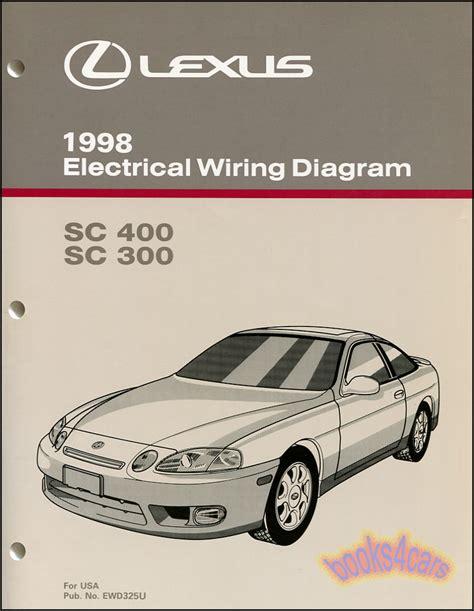 Shop Manual Lexus Electrical Wiring Diagram