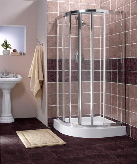 corner shower units  small bathroom solving space