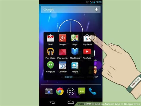 drive app android how to add an android app to drive 6 steps with