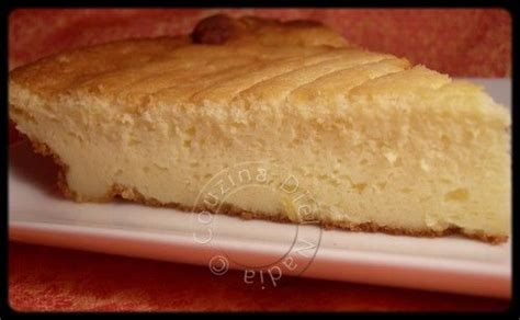 re cheesecake ou tarte au fromage blanc sans p 226 te recette