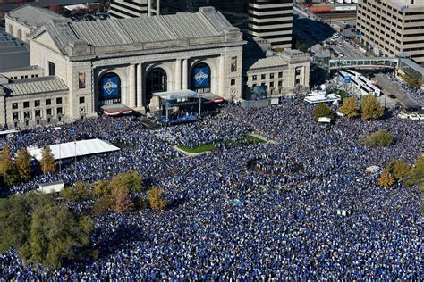 royals celebration shatters expectations  kansas city