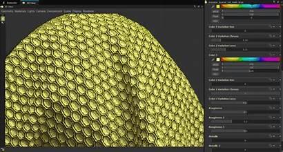 Scan Designer Substance Materials Hybrid Pattern Making