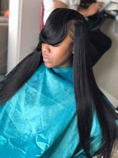 Sew In Weave Hairstyles With Side Bangs by Side Part Sew In It Weave Crush Hair