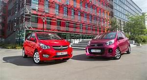 Avis Opel Karl : opel karl vs kia picanto comparatif vid o infos photos et prix ~ Gottalentnigeria.com Avis de Voitures