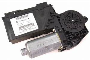 Rh Rear Power Window Motor  U0026 Module 04-06 Vw Phaeton