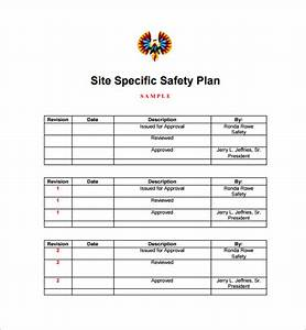 Construction site specific safety plan bing images for Construction site specific safety plan template