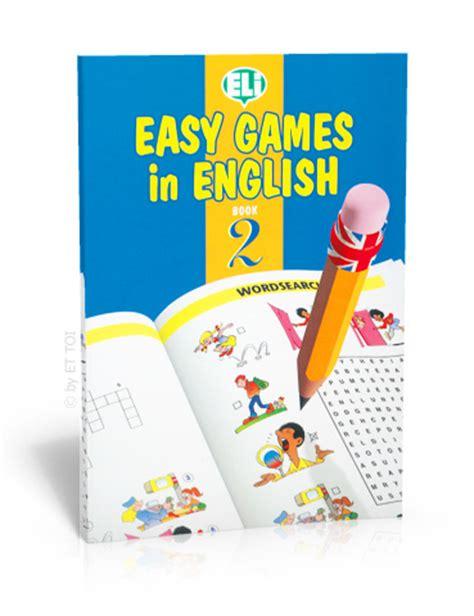 easy games  english book  eli publishing