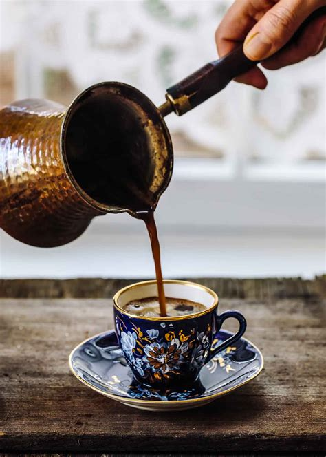 Gahwa is traditionally prepared in front of house guests on the. Learn How To Make Turkish Coffee with Step-by-Step Photos