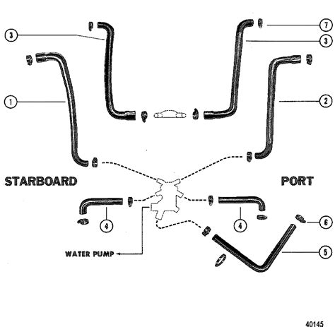 1978 Mercruiser 898 Wiring Diagram by каталог запчастей Mercruiser остальные 260 4 Bbl Gm 350