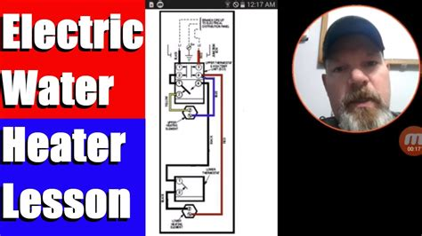 Electric Water Heater Lesson Wiring Schematic