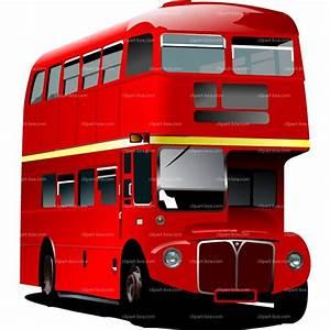 England Double Decker Bus Clipart (70+)