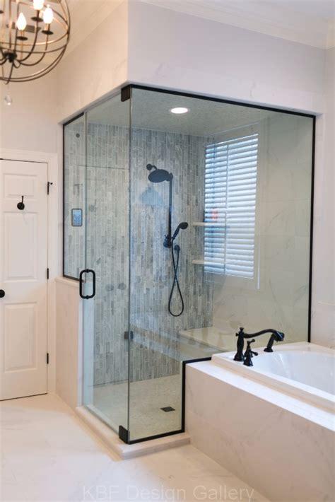 master bathroom  steam shower kbf design gallery
