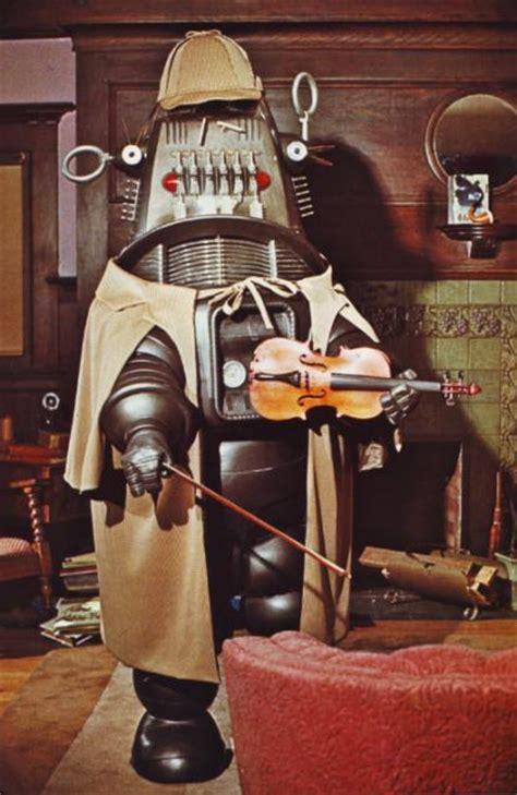 robot robby holmes sherlock whore costumes robots robotique camera space played robbie ia flashbak inventor retro box evil watson took