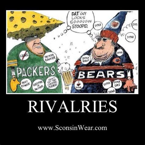 Bears Packers Meme - 1000 images about packers vs bears on pinterest football da bears and fans