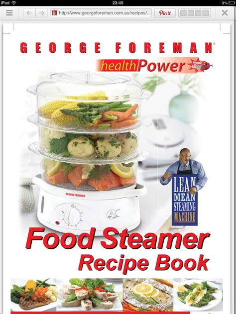 steam cuisine recipes for electric steamer http georgeforeman com