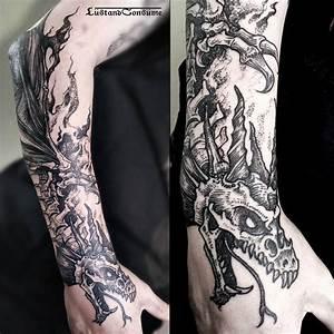 Dragon Skeleton Tattoo | Best Tattoo Ideas Gallery
