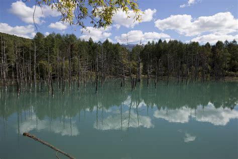 filehokkaido biei blue pond jpg