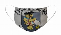 Colorado Air Guard Logo Face Mask for Sale by Paul Freidlund