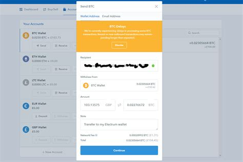 You will be brought again to a list of all coins then, add the amount of bitcoin you want to transfer, continue, and confirm the transaction. How To Receive Bitcoin To My Coinbase Wallet   Bitcoin ...