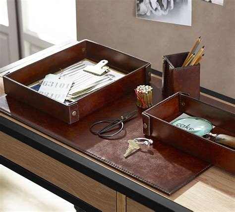 leather desk accessories 8 ways to organize your home office