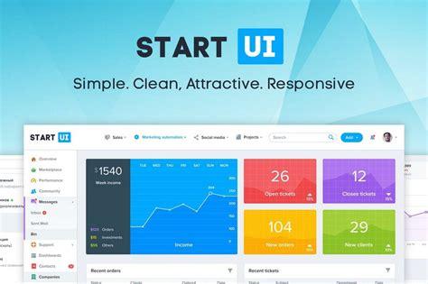 bootstrap 4 starter template 30 best bootstrap admin templates of 2018 design shack
