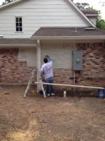 Lime Wash Exterior Brick House