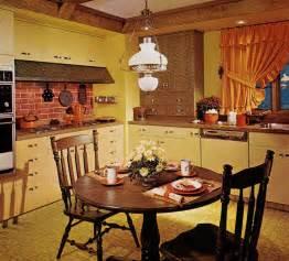 wallpaper kitchen backsplash 1970s kitchen design one harvest gold kitchen decorated