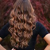 Dark Brown Hair With Caramel Highlights | 736 x 736 jpeg 69kB