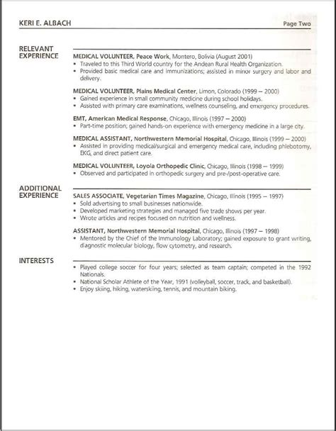 resume medical student professional executive resume writers and cover letter at