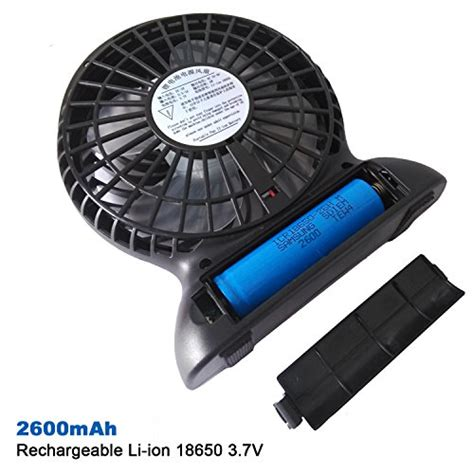 mini electric fan usb lurico 4 inch portable mini electric usb rechargeable fan