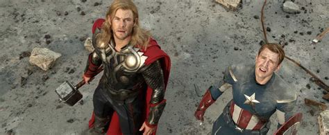 Chris Evans Captain America Thor
